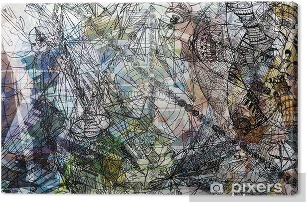 Obraz na płótnie Wyraziste streszczenie - Abstrakcja