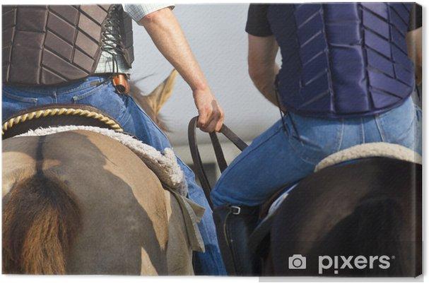 Obraz na płótnie Wyścigi konne - Sporty indywidualne