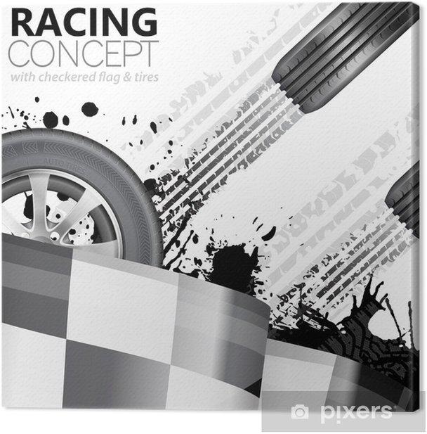 Obraz na płótnie Wyścigi - Transport drogowy