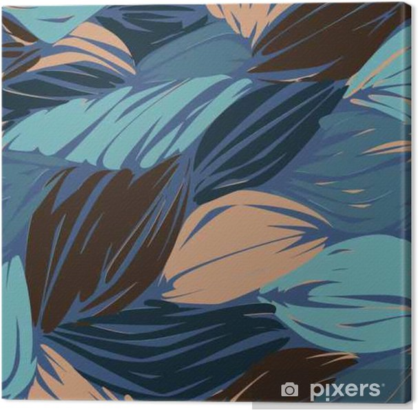 Obraz na płótnie Wysokiej jakości oryginalne kolorowe fale wzór do projektowania lub Fashio - Zasoby graficzne