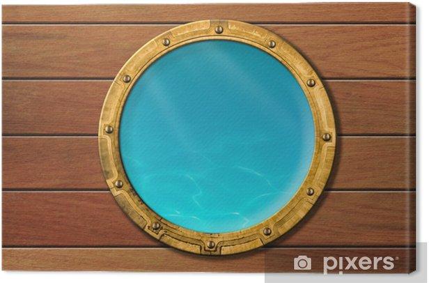 Obraz na płótnie Wysyłamy iluminator z widokiem podwodnego - Transport wodny
