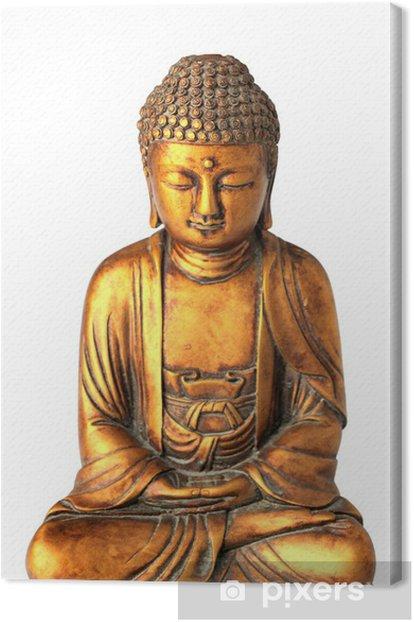 Obraz na płótnie Wytnij Buddy na białym tle - Naklejki na ścianę