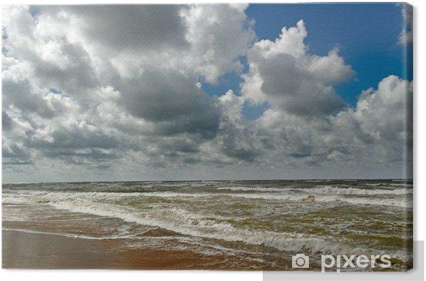 Obraz na płótnie Wzburzonym morzu - Pory roku