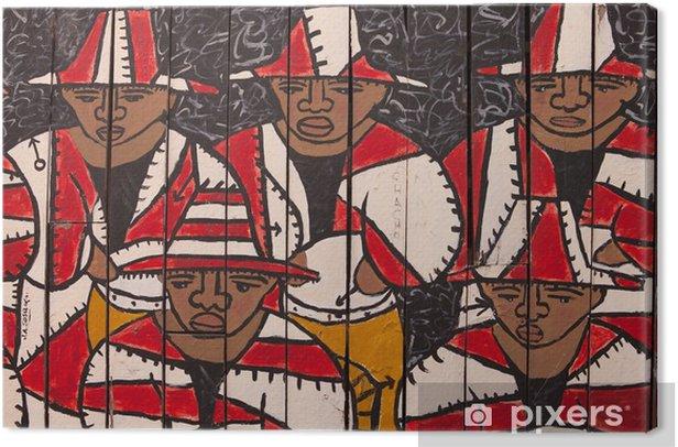 Obraz na płótnie Wznowienie graffiti, - Ameryka