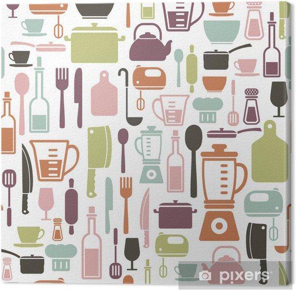 Obraz na płótnie Wzór gotowanie - Przeznaczenia