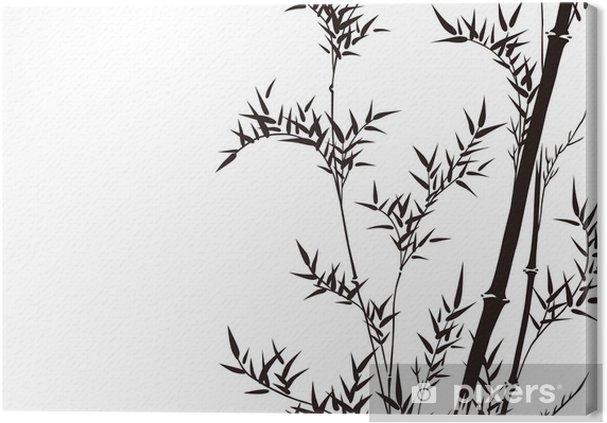 Obraz na płótnie Wzór graficzny - Rośliny