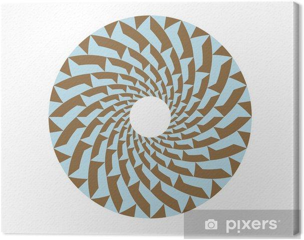 Obraz na płótnie Wzór koło v2 - Tła