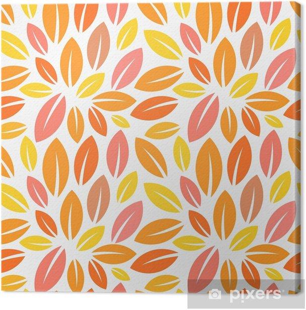 Obraz na płótnie Wzór liści jesienią - Zasoby graficzne