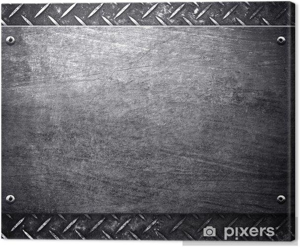 Obraz na płótnie Wzór tle metalu - Surowce