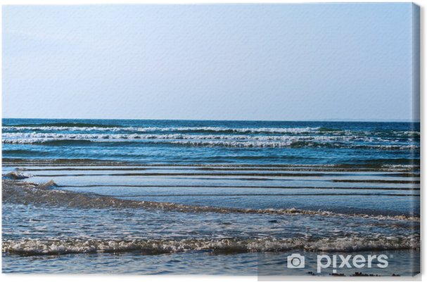 Obraz na płótnie Wzór Wave - Woda