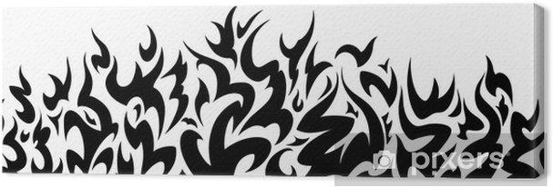 Obraz Na Płótnie Wzór Zapora Tribal Tatuaż