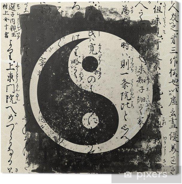 Obraz na płótnie Yin i yang - Style