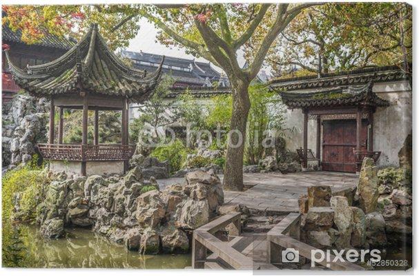 Obraz na płótnie Yuyuan Ogród, Szanghaj, Chiny - Miasta azjatyckie