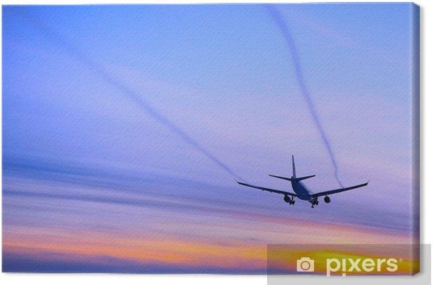 Obraz na płótnie Z dala - Transport powietrzny