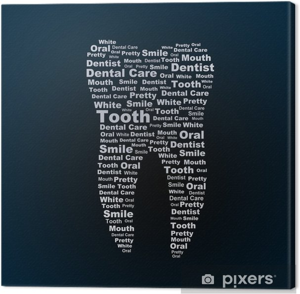 Obraz na płótnie Ząb - Zdrowie i medycyna