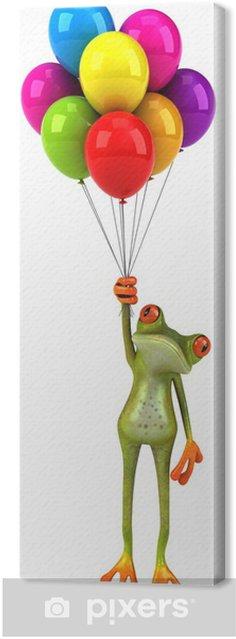 Obraz na płótnie Żaba zabawy - Znaki i symbole