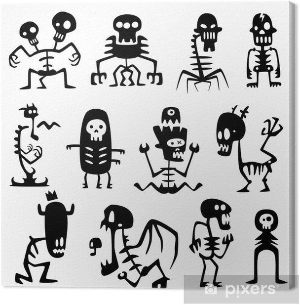 Obraz na płótnie Zabawna potwory - Tematy