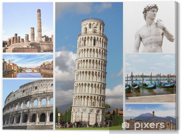 Obraz na płótnie Zabytki z Włoch - Europa
