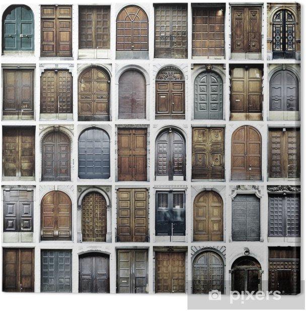Obraz na płótnie Zabytkowe drzwi - iStaging