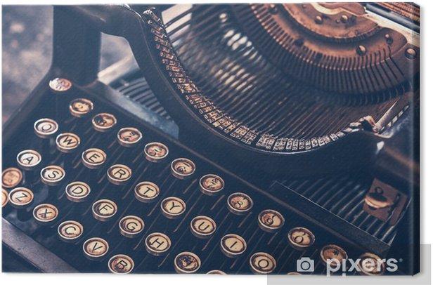 Obraz na płótnie Zabytkowe maszyny do pisania - Inne przedmioty