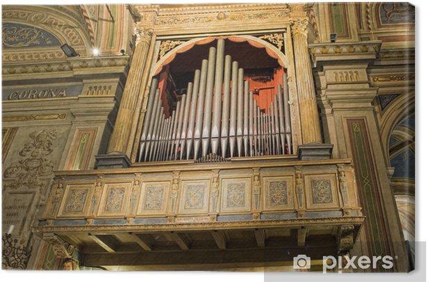 Obraz na płótnie Zabytkowe stare organy kościelne włoski - Sztuka i twórczość