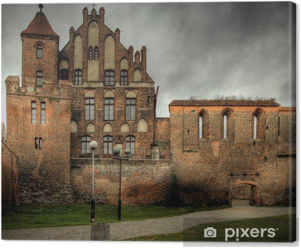 Obraz na płótnie Zabytkowy zamek w miescie - Tematy