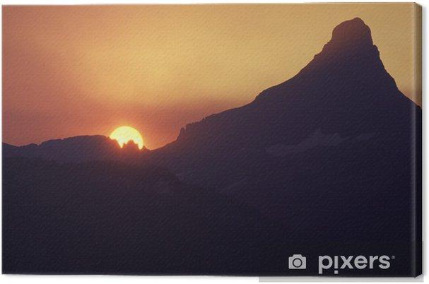 Obraz na płótnie Zachód słońca - Ameryka