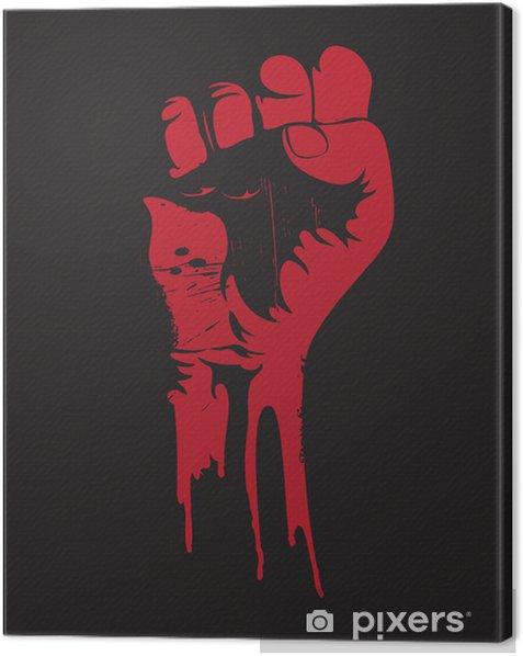 Obraz na płótnie Zaciśnięta pięść - Znaki i symbole
