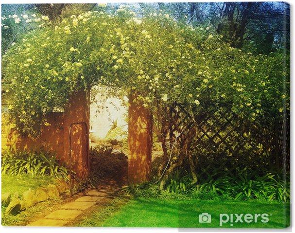 Obraz na płótnie Zaczarowany ogród - Budynki prywatne
