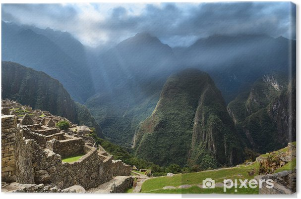 Obraz na płótnie Zaginione miasto Inków - Tematy