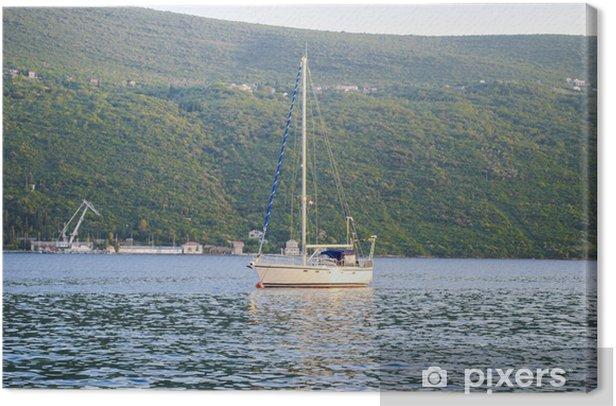 Obraz na płótnie Żaglówka - Transport wodny