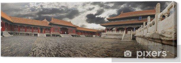 Obraz na płótnie Zakazane Miasto widok panoramiczny - Miasta azjatyckie
