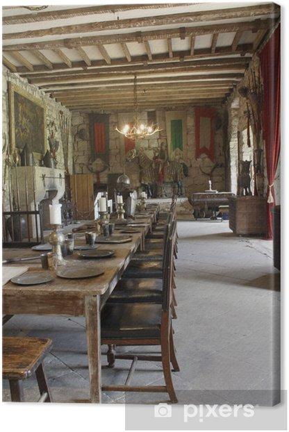 Obraz na płótnie Zamek Chillingham najbardziej nawiedzony zamek w Anglii - Zabytki