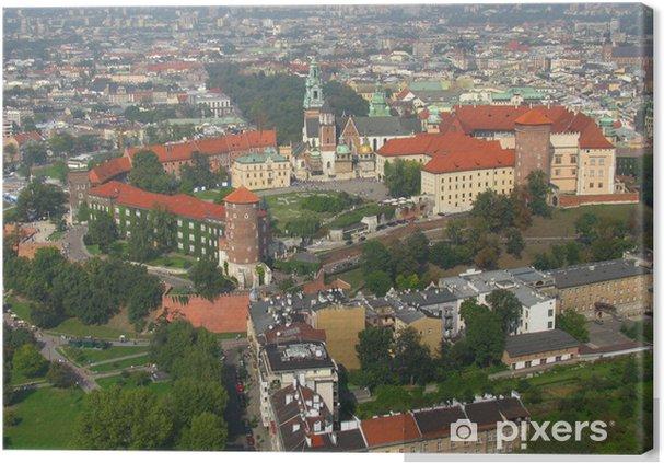 Obraz na płótnie Zamek Królewski na Wawelu w Krakowa - Polska - Europa