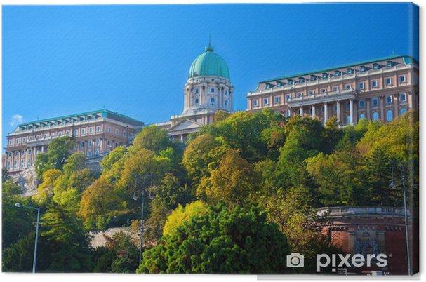 Obraz na płótnie Zamek Królewski w Budapeszcie - Europa