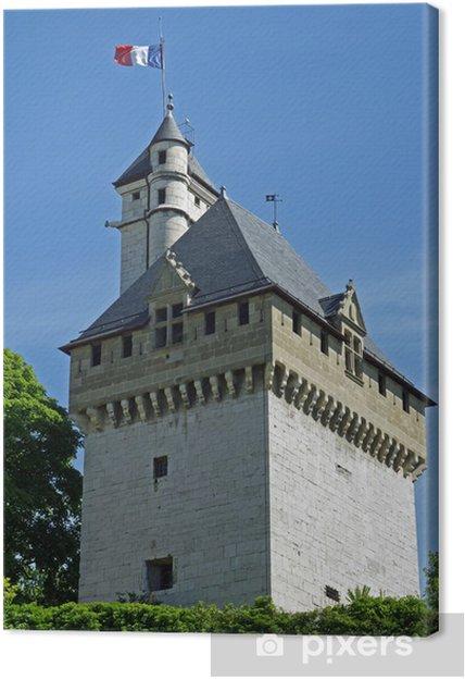 Obraz na płótnie Zamek Książąt Sabaudii - Zabytki