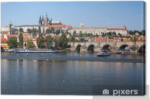 Obraz na płótnie Zamek Praski - Europa