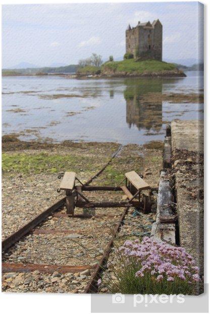 Obraz na płótnie Zamek Stalker, Argyll, Szkocja - Europa