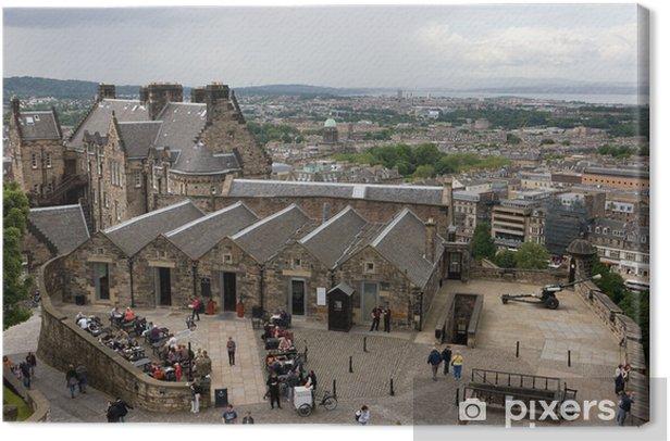 Obraz na płótnie Zamek w Edynburgu. - Tematy