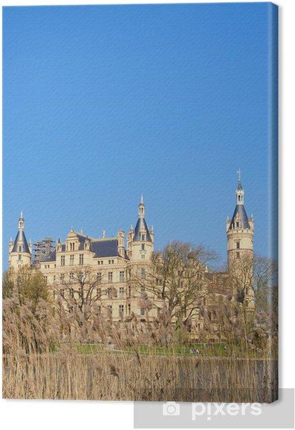 Obraz na płótnie Zamek w Schwerinie - Zabytki