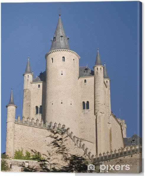 Obraz na płótnie Zamek w Segowii - Tematy