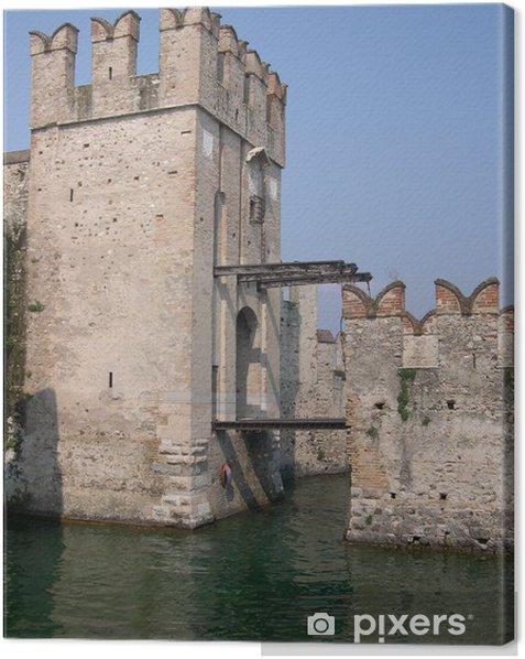 Obraz na płótnie Zamek w Sirmione - Zabytki