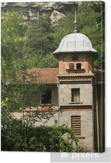 Obraz na płótnie Zamek Wodospad Cerveyrieu - Zabytki