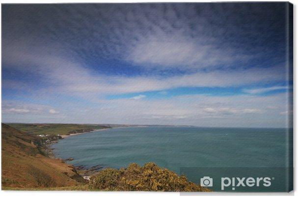 Obraz na płótnie Zamiatać Start Bay Devon - Woda