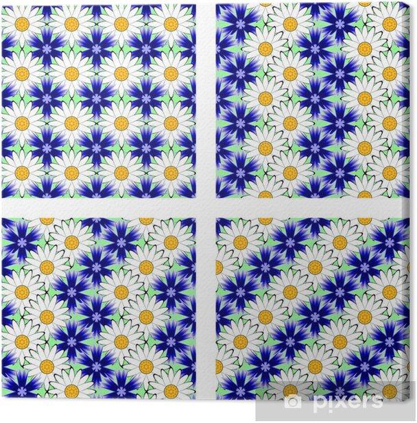 Obraz na płótnie Zaprojektuj szwu kwiat - Tła