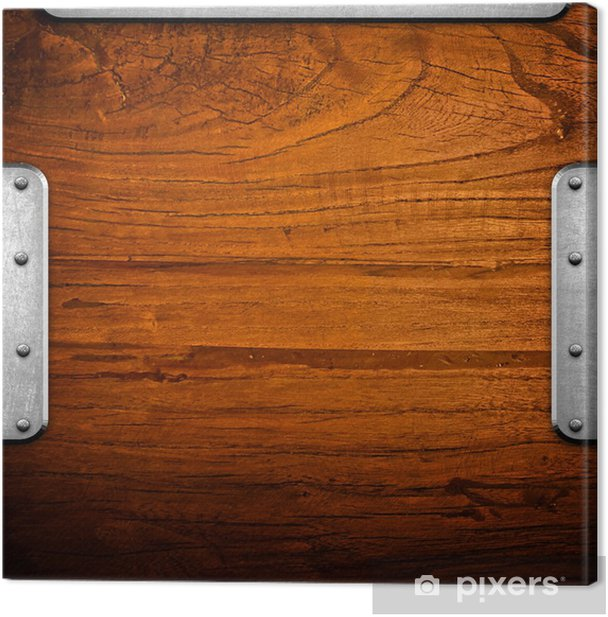 Obraz na płótnie Zarząd drewna z żelaza drobiazg - Przemysł ciężki