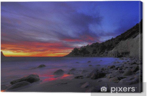 Obraz na płótnie Zatoka na Ibizie - Wakacje