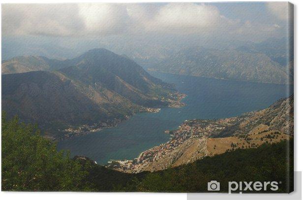 Obraz na płótnie Zatoki Kotorskiej, Czarnogóra - Europa