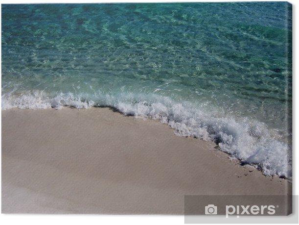 Obraz na płótnie Ze zebranie - Woda