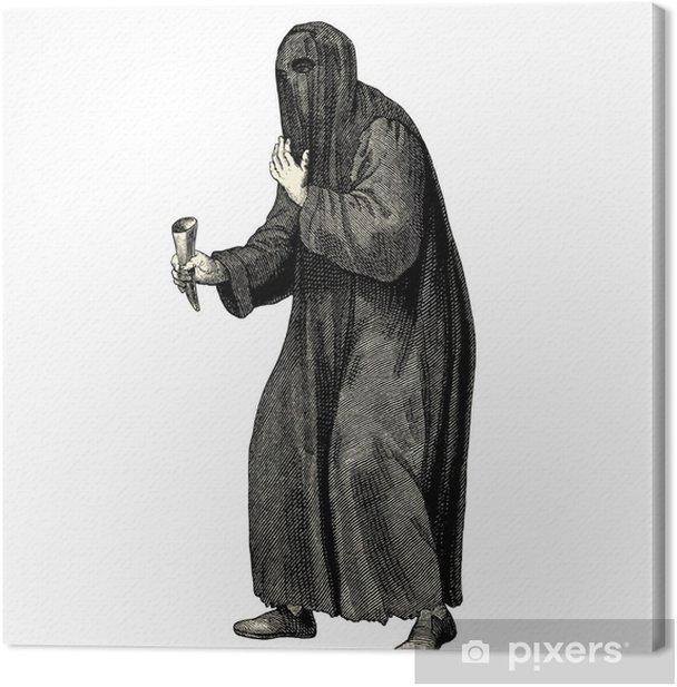 Obraz na płótnie Żebranie średniowieczny era - Mężczyźni